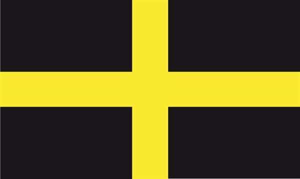 St. David (Kreuz Wales) Flagge 90x150 cm