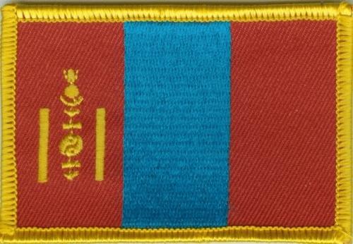 Mongolei Aufnäher / Patch