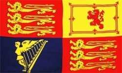 Großbritannien Royal Standart Flagge 90x150 cm