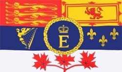 Kanada Royal (Königin Elizabeth II) Flagge 90x150 cm