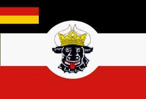 Mecklenburg-Seefahrzeuge Flagge 90x150 cm