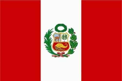 Peru Flagge 150x250 cm