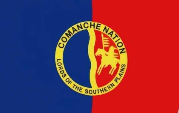 Comanche Nation (Indianer) Flagge 90x150 cm