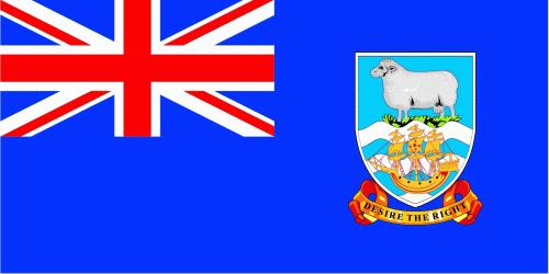 Falkland Inseln Flagge 90x150 cm