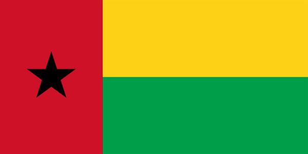 Guinea Bissau Flagge 90x150 cm