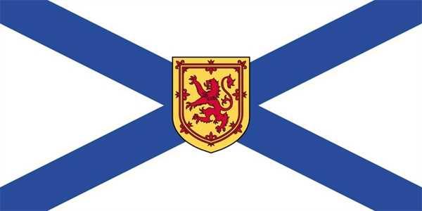 Neuschottland / Nova Scotia Flagge 90x150 cm
