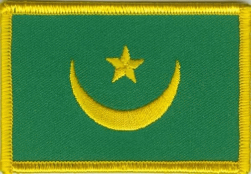 Mauretanien Aufnäher / Patch