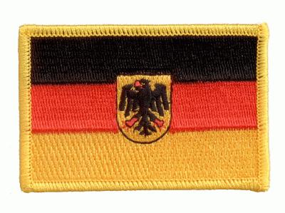 Deutschland mit Adler Aufnäher / Patch
