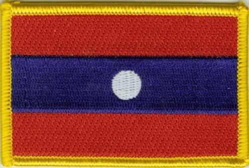 Laos Aufnäher / Patch