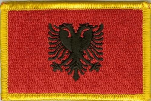 Albanien Aufnäher / Patch