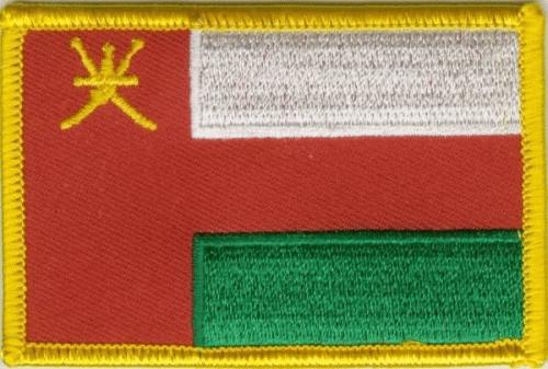Oman Aufnäher / Patch