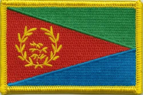 Eritrea Aufnäher / Patch