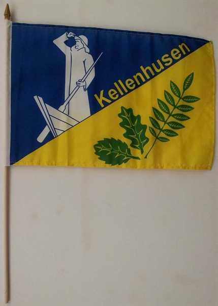 Kellenhusen Stockflagge 30x40 cm Abverkauf