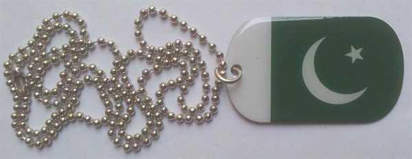Pakistan Dog Tag 30x50 mm (Erkennungsmarke)