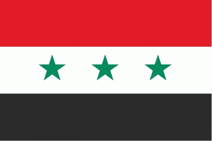 Irak ohne Schrift 1963-1991 Flagge 90x150 cm