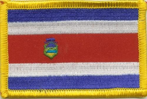 Costa Rica Aufnäher / Patch