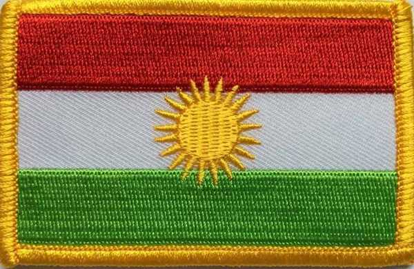 Kurdistan Aufnäher / Patch