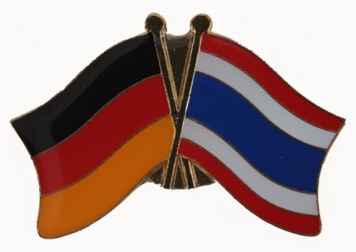 Deutschland / Thailand Freundschaftspin