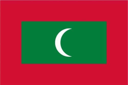 Malediven Flagge 90x150 cm
