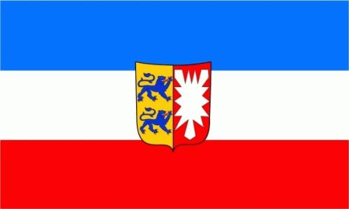 Schleswig-Holstein Flagge 60x90 cm,160 Dernier (G)