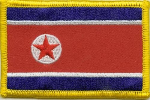 Nordkorea Aufnäher / Patch