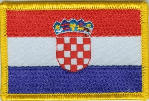 Kroatien Aufnäher / Patch