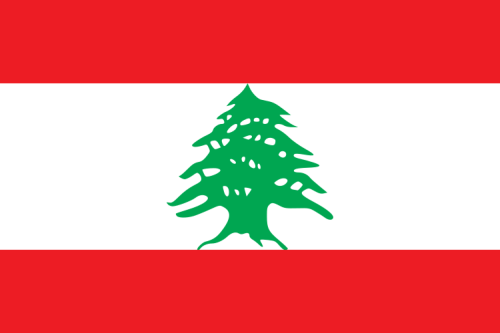 Libanon Flagge 90x150 cm