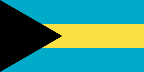 Bahamas Flagge 90x150 cm