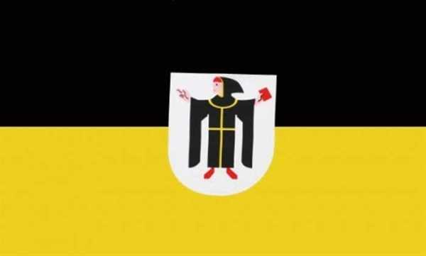 München mit Wappen Stadt Flagge 90x150 cm