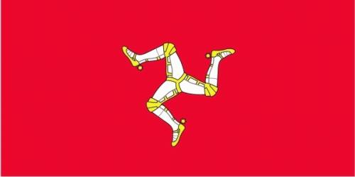 Isle of Man Flagge 90x150 cm