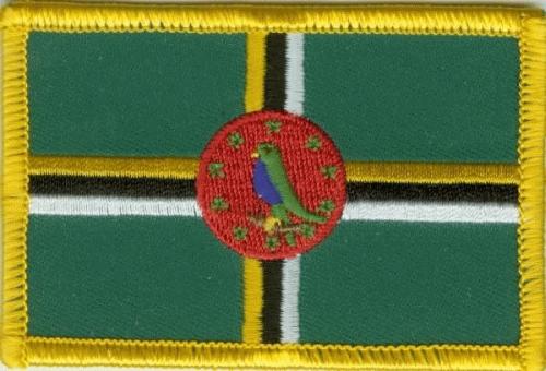 Dominica Aufnäher / Patch