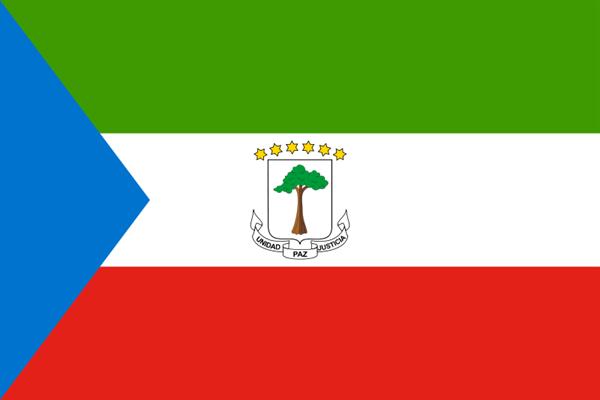 Äquatorialguinea Flagge 90x150 cm