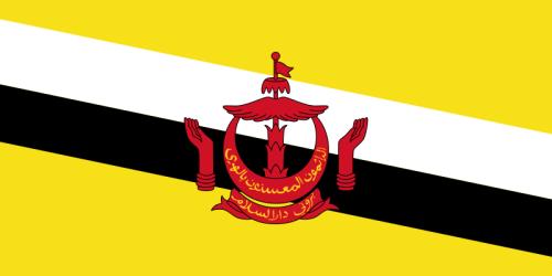 Brunei Flagge 90x150 cm