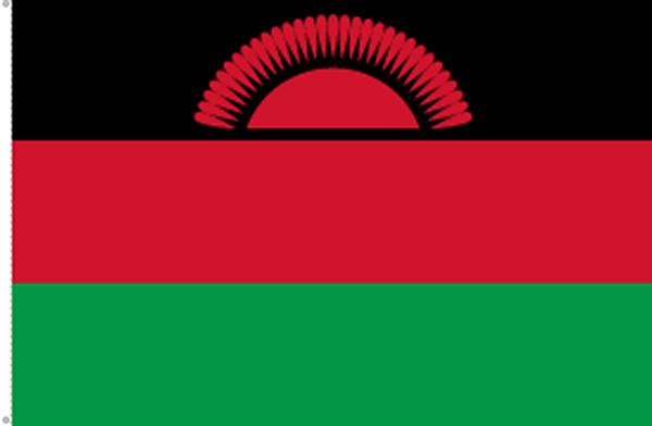 Malawi bis 2010 Flagge 90x150 cm