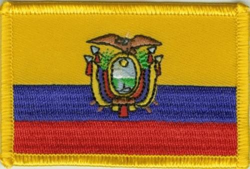 Ecuador Aufnäher / Patch