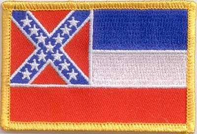 Mississippi Aufnäher / Patch