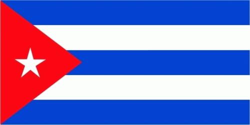 Kuba Flagge 90x150 cm
