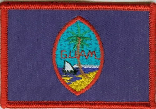 Guam Aufnäher / Patch