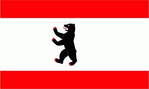 Berlin ohne Krone Flagge 90x150 cm