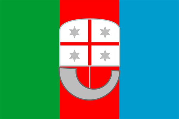 Ligurien / Liguria Italien Flagge 90x150 cm