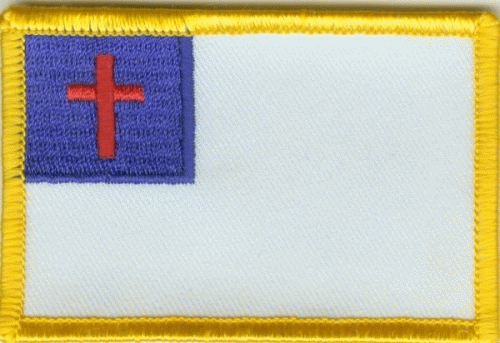 Christenflagge Aufnäher / Patch
