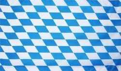 Bayern kleine Rauten Flagge 90x150 cm