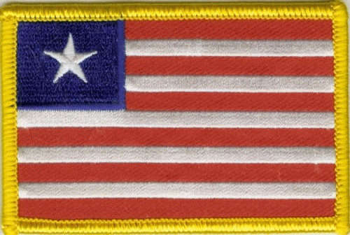 Liberia Aufnäher / Patch