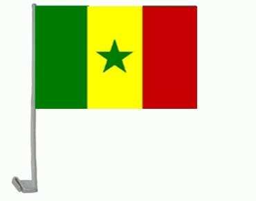 Senegal Autoflagge 30x45 cm