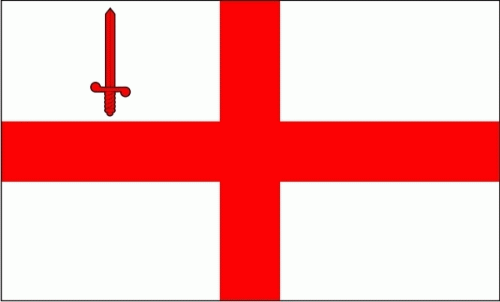 London City Flagge 90x150 cm