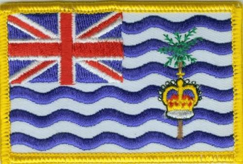 British Indian Ocean Aufnäher / Patch