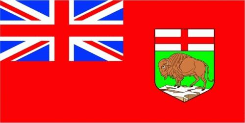 Manitoba (Provinz) Flagge 90x150 cm