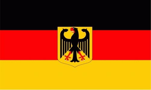Deutschland mit Adler Flagge 90x150 cm