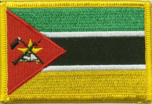 Mosambik Aufnäher / Patch
