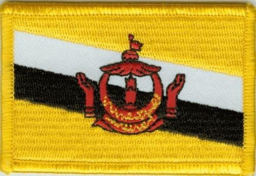 Brunei Aufnäher / Patch